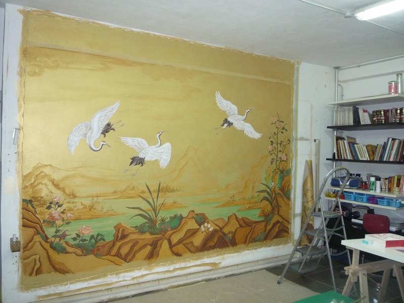 Chinoiserie Room | www.kj-art.it